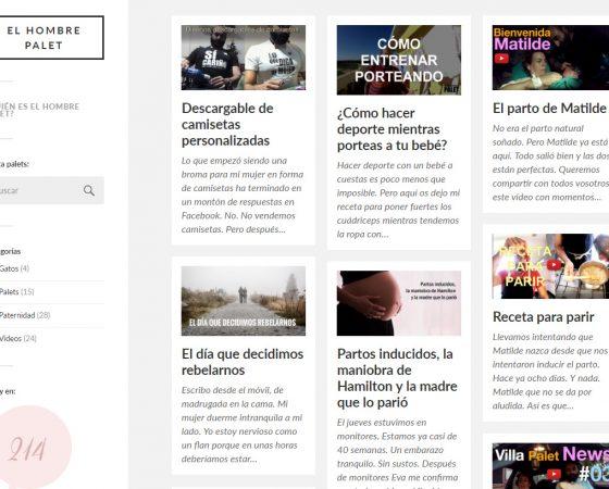 Diseño y desarrollo Blog