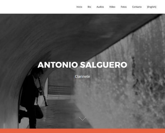 Antonio Salguero – Diseño y mantenimiento