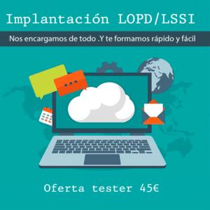 LOPD protección de datos de carácter personal