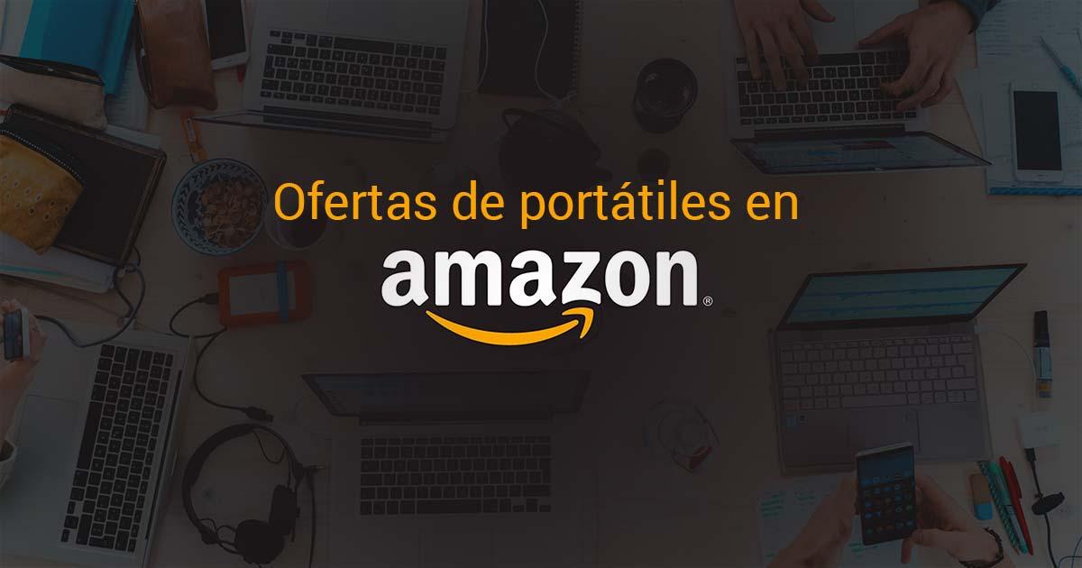 Comparativa de ofertas de portátiles en amazon España