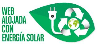 Mi web funciona con energía solar